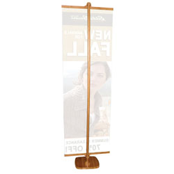 bamboo banner display
