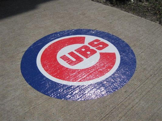 Outdoor Removable Concrete Graphics and Street Wraps