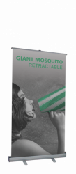 Giant Mosquito Retractable stand 2