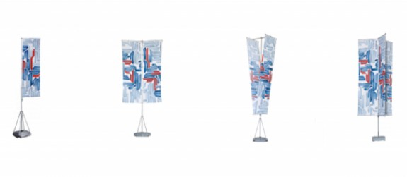 Indoor and Outdoor Portable Flag Poles
