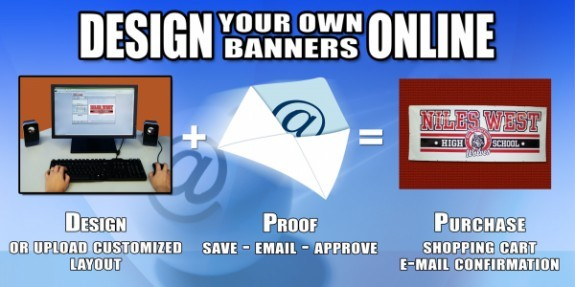 Custom Vinyl and Mesh Grocery Store Banners