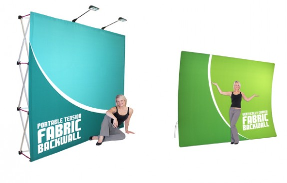 Expanding Tradeshow Booth Hop Up Banner Display Systems