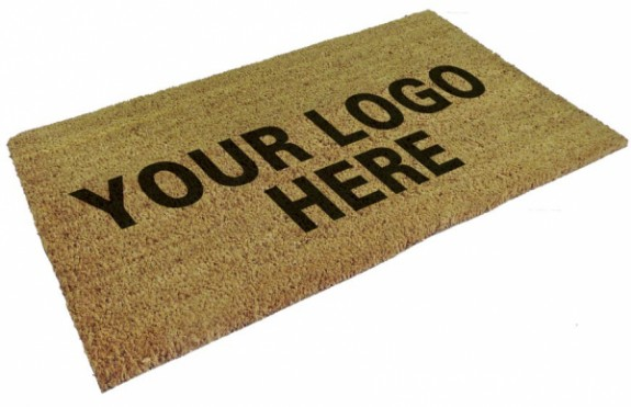 Custom Auto Repair Shop Logo Mats