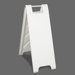 White Plastic Mini A-Frame