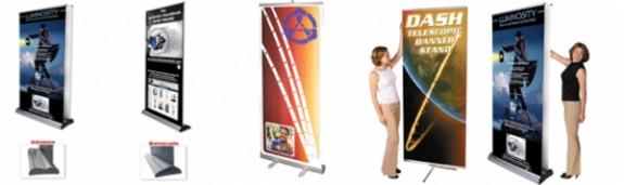 Trade Show Banner Stands and Accessories