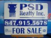 Double Sided Aluminum Real Estate Sign