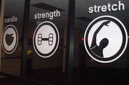 GYM/FITNESS CLUB SIGNAGE