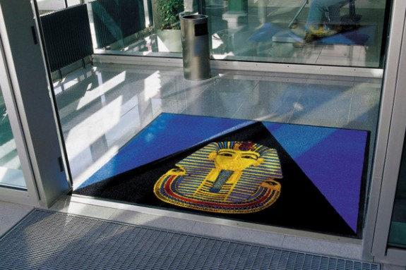 Custom Hospital Logo Floor Mats