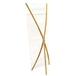 bamboo banner display trade show