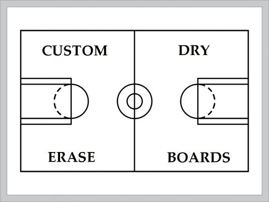 Court Diagrams Basketball Diagram Field Diagrams Court