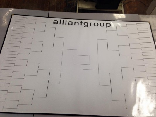 Dry Erase Sports Boards | Tournament Brackets | Dry Erase Ncaa